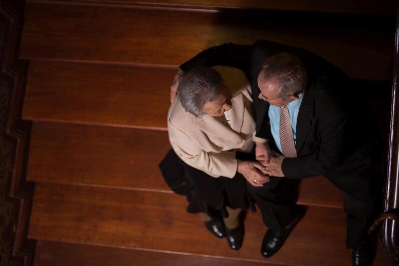Sesja z okazji 70-lecia związku małżeńskiego