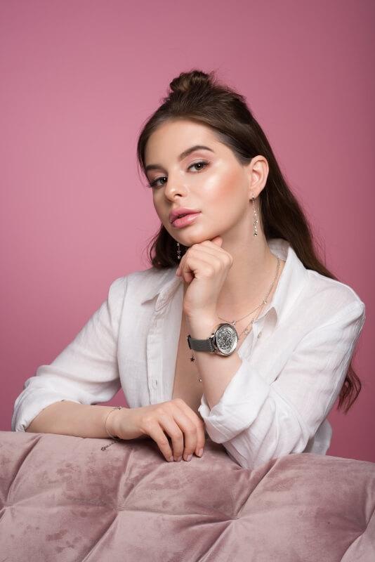 Sesja reklamująca biżuterie