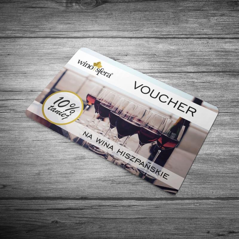 Drobna poligrafia - voucher dla Winosfera