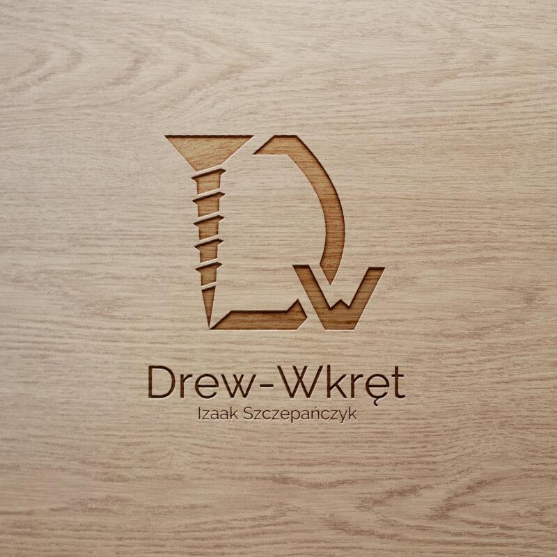 Wizualizacja LOGO firmy Drew-Wkręt Izaak Szczepańczyk